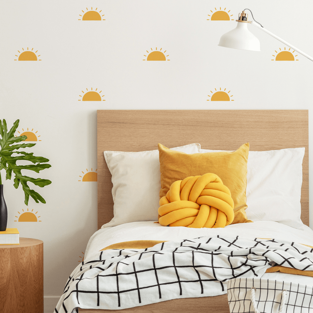 Sunshine Wall Stickers Wall Decals Kenna Sato Designs Sample