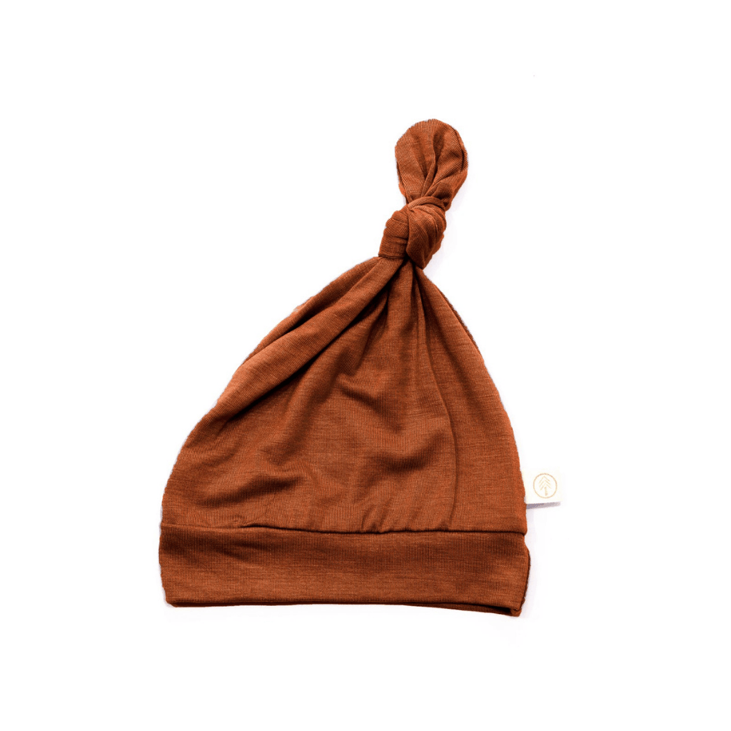 Rust Bamboo Knot Hat - Project Nursery