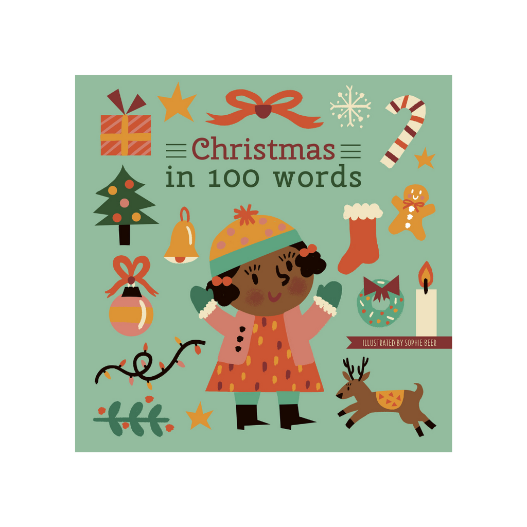 Christmas in 100 Words Board Book - Project Nursery
