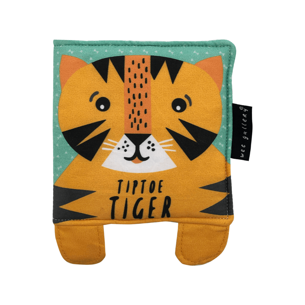 Baby's First Soft Book: Tiptoe Tiger - Project Nursery