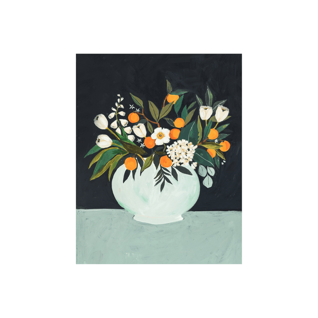 Orange Blossom Art Print - Project Nursery