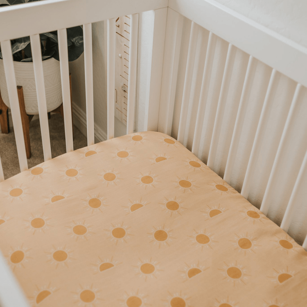 Golden Hour Crib Sheet - Project Nursery