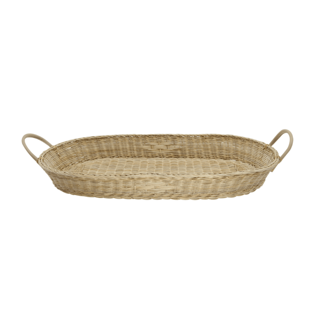 Bayu Rattan Changing Basket - Project Nursery