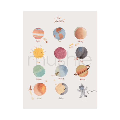 Space Poster - Project Nursery