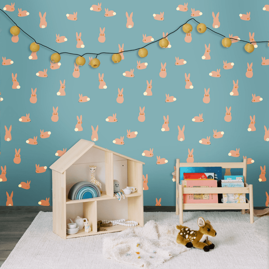 Cottontail Wallpaper - Project Nursery