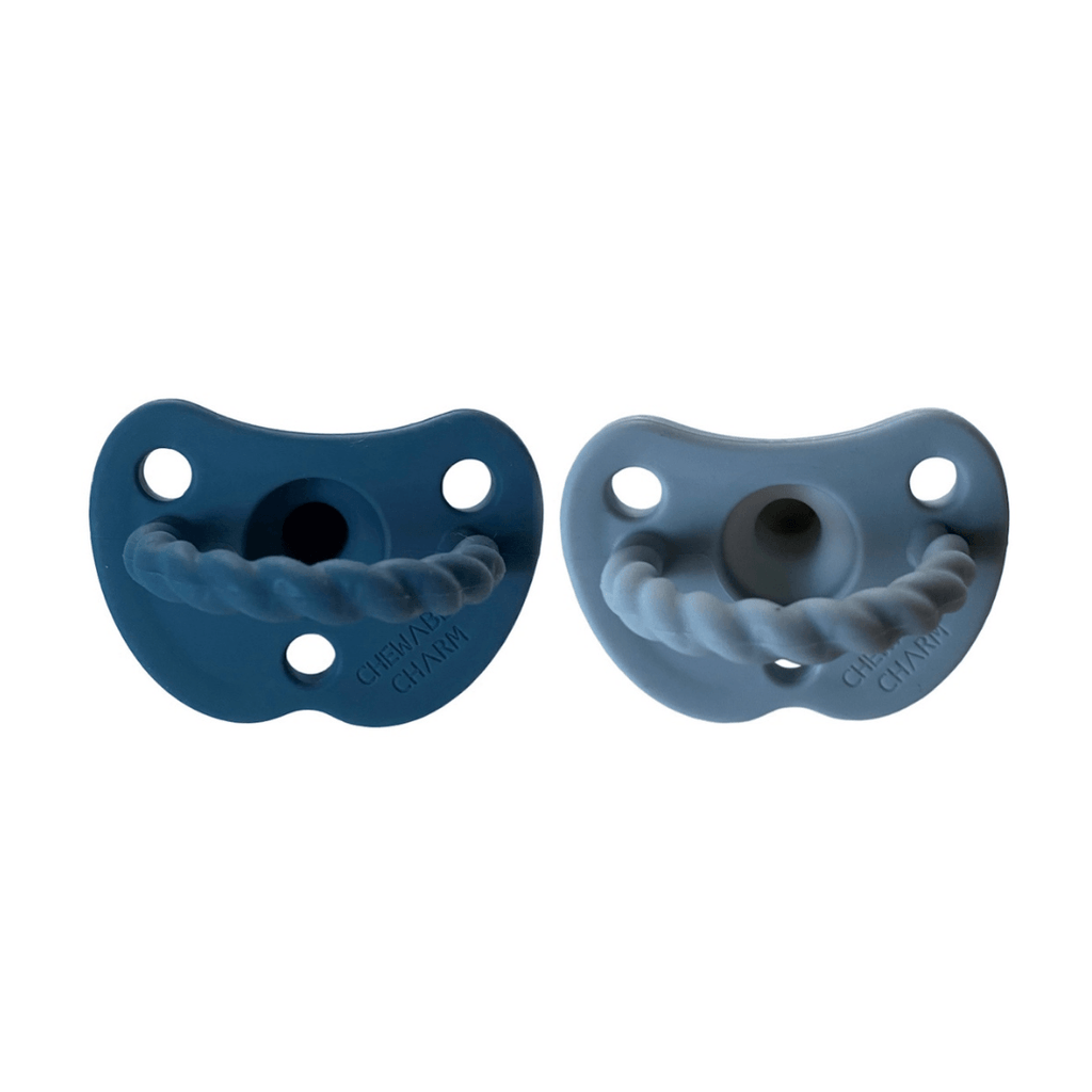 2 Pack Pacifier Twist - Moon + Cloud - Project Nursery