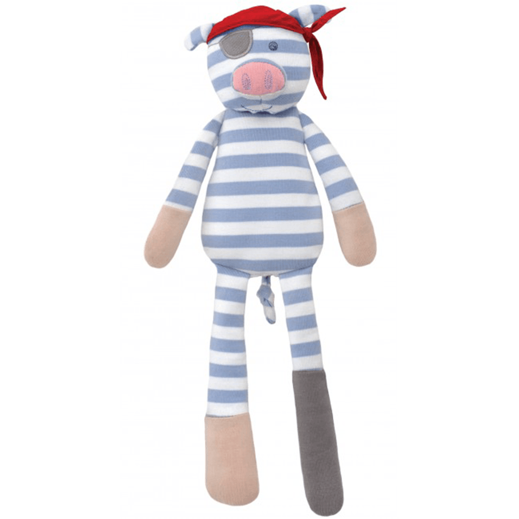 Organic Plush Pirate Pig  - The Project Nursery Shop - 1