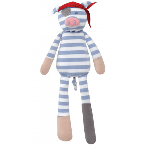 Organic Plush Pirate Pig - Project Nursery