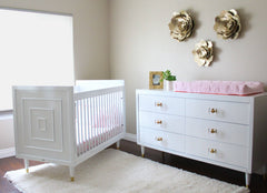 Uptown Crib - Project Nursery