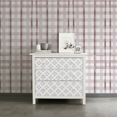 Cannes Wallpaper - Dusty Rose - Project Nursery