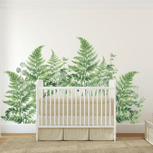 Fern + Eucalyptus Wall Decal Set - Project Nursery