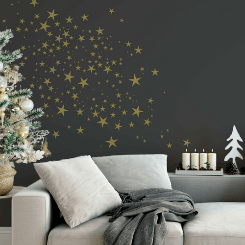 Holiday Twinkle Star Decal Set - Multiple Colors - Project Nursery