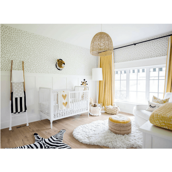 Baby Room Wall Décor Ideas Tips For Careful Parents: Irregular Dots Wall Decals