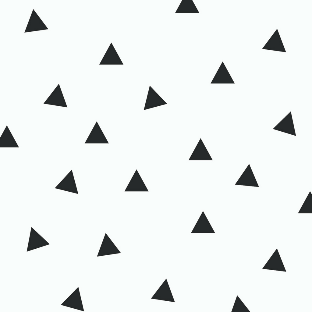 Mini Triangle Wall Decals - Multiple Colors - Project Nursery