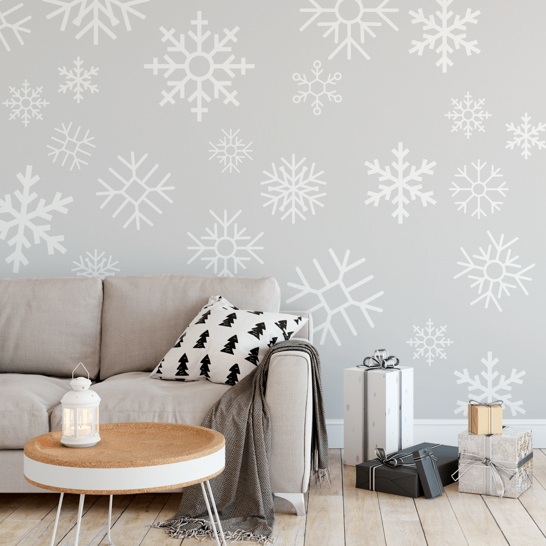 Snowflake Wall Decals - Multiple Colors - Project Nursery