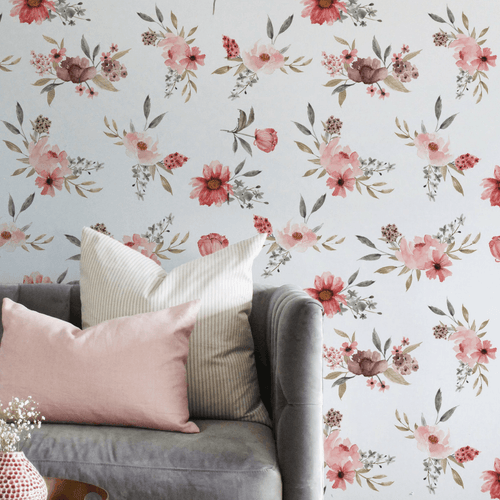 Tea Time Wallpaper - Project Nursery