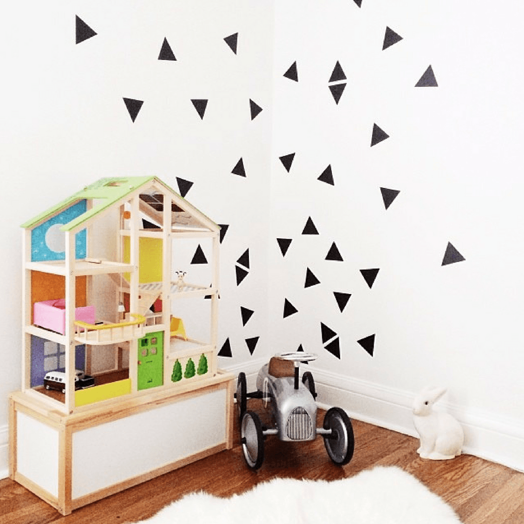 Triangle Wall Decals - Multiple Colors - Project Nursery