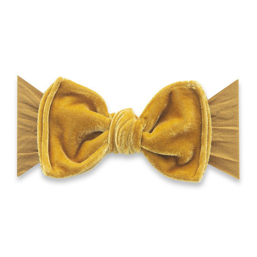 Brass Velvet Knot Headband - Project Nursery