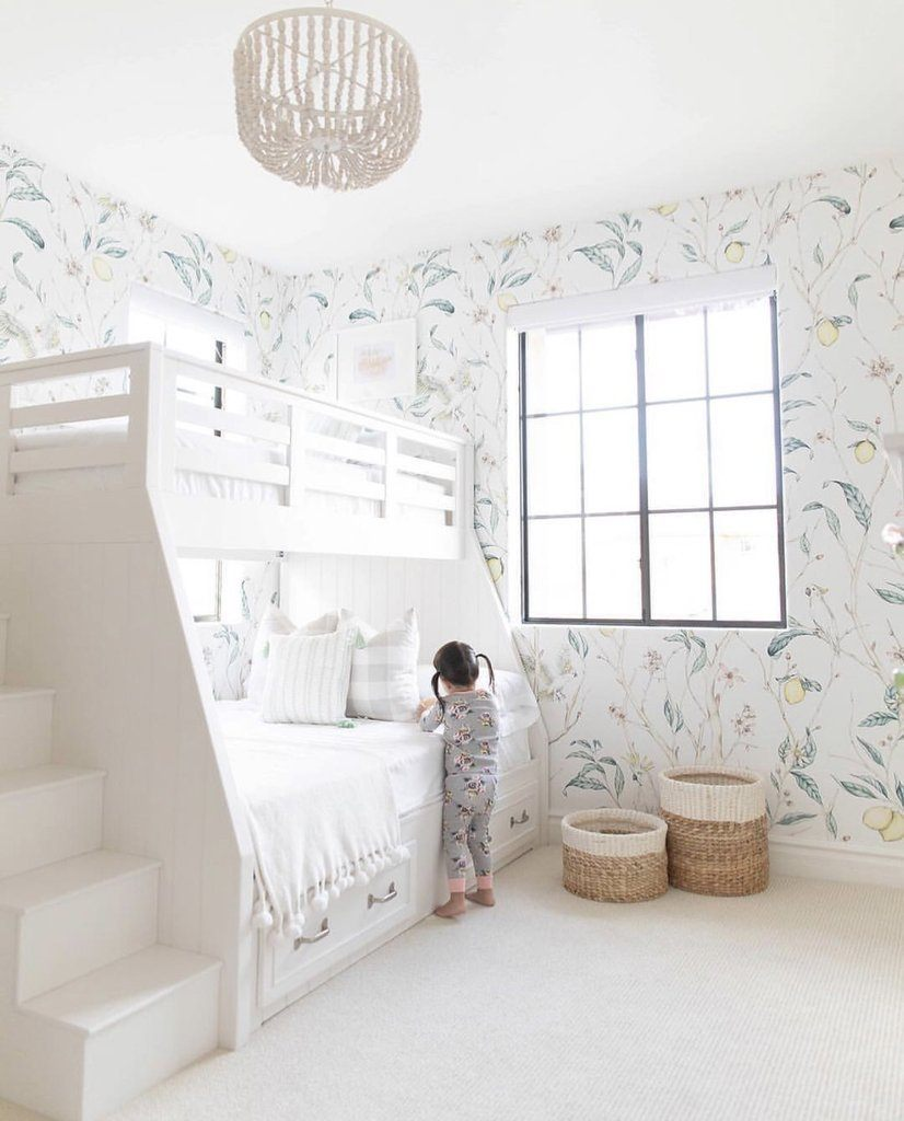 Verbena Wallpaper Mural - Project Nursery