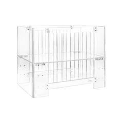 Vetro Acrylic Mini Crib - Project Nursery