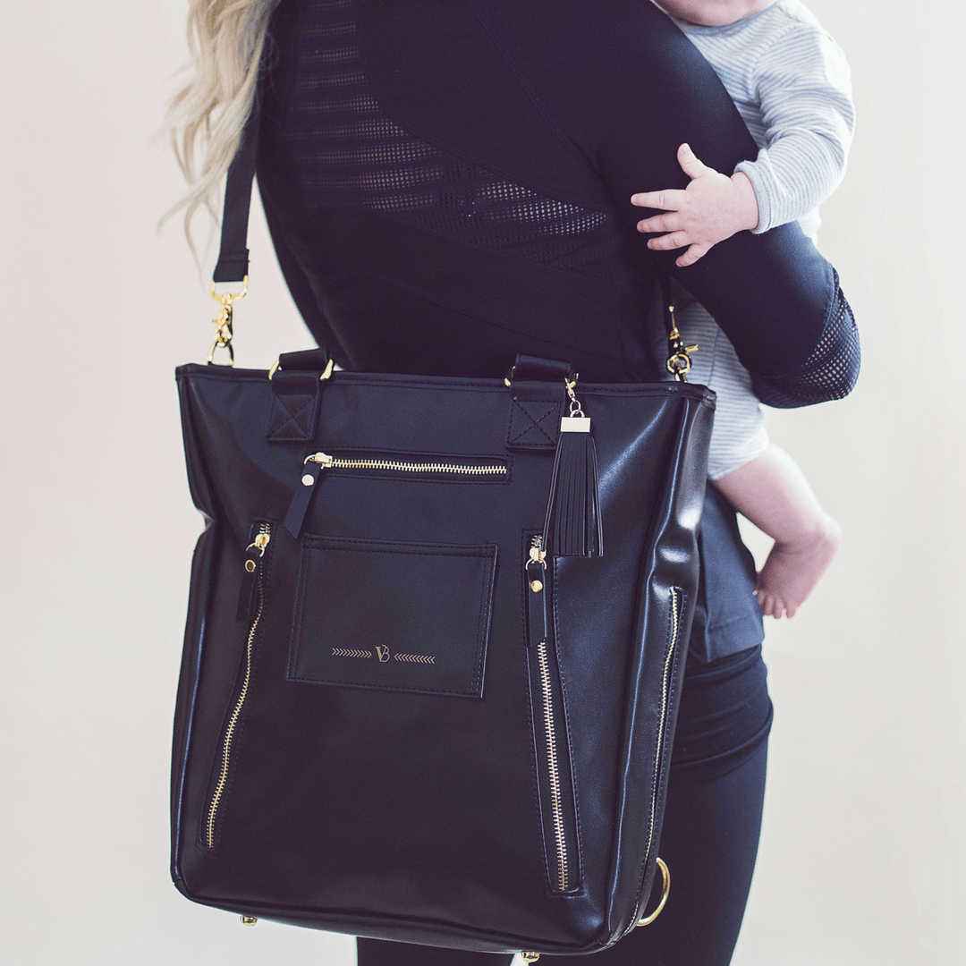 Cafe Crossover Diaper Bag - Project Nursery