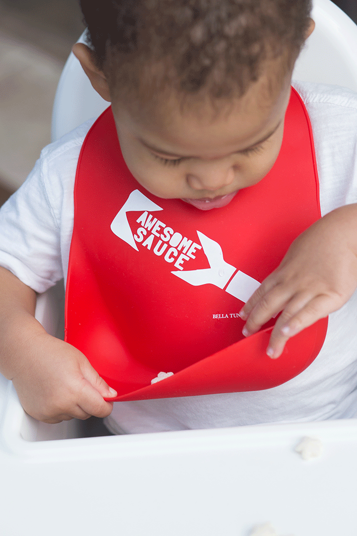 Awesome Sauce Wonder Bib - Project Nursery