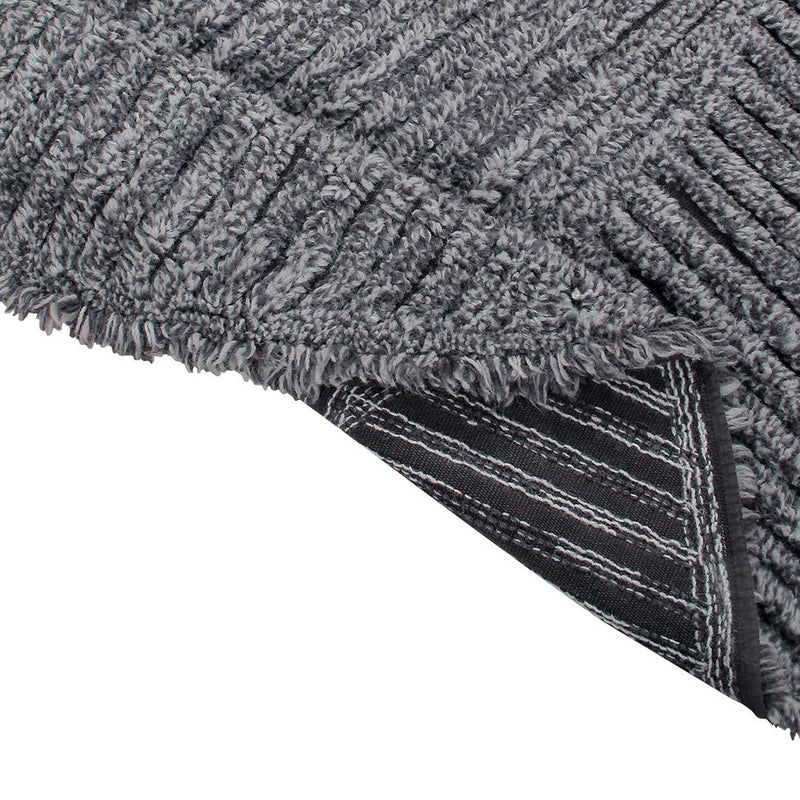 Black Tea Woolable Rug - Project Nursery