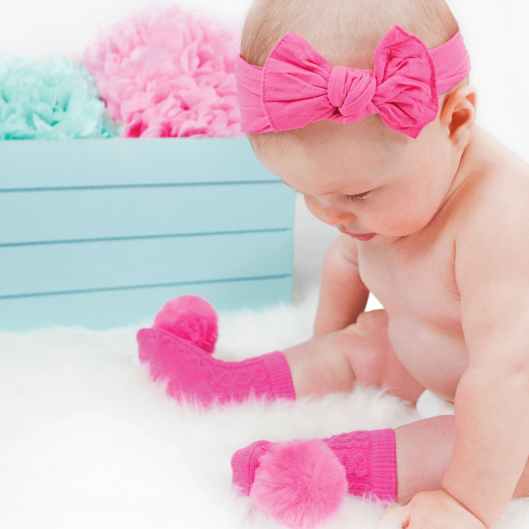 Pom Pom Rattle Socks Project Nursery