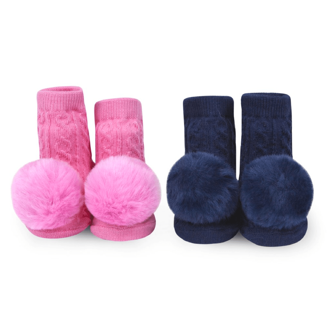 Pom Pom Rattle Socks - Project Nursery