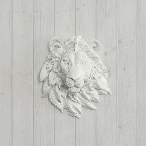 Mini Resin Lion Head Wall Mount - Project Nursery