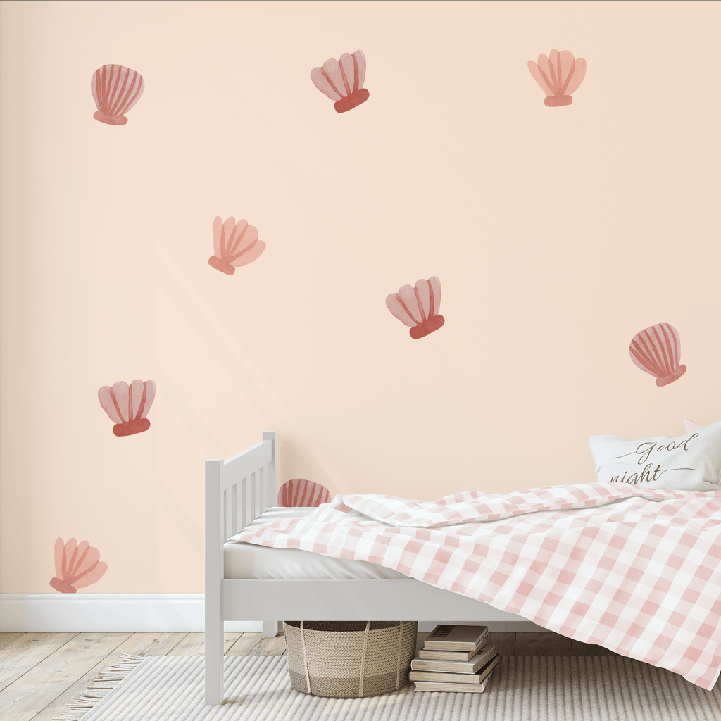 Watercolor Sea Shells Decals - Project Nursery