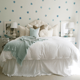 Watercolor Polka Dots Wall Decals Teal - The Project Nursery Shop - 2
