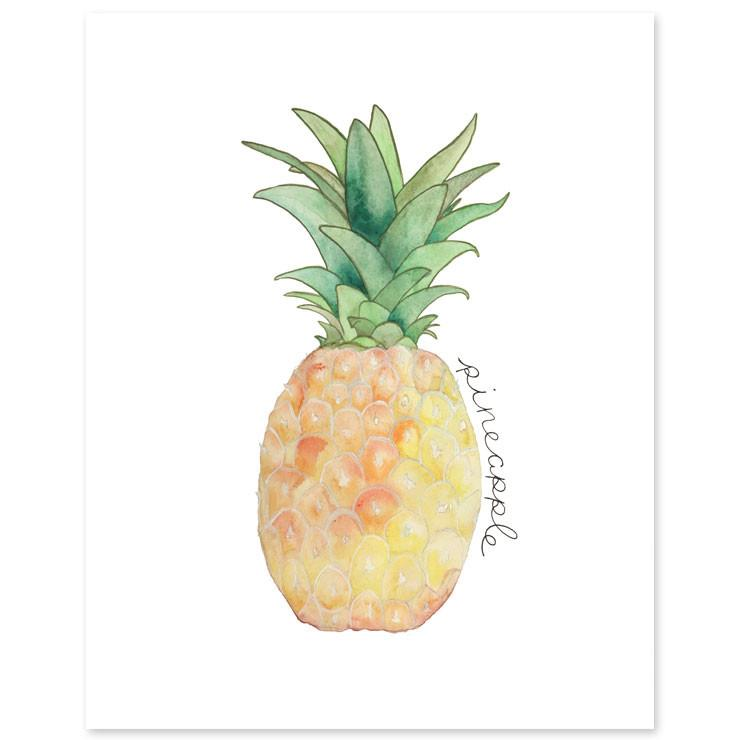 Pineapple Print  - The Project Nursery Shop