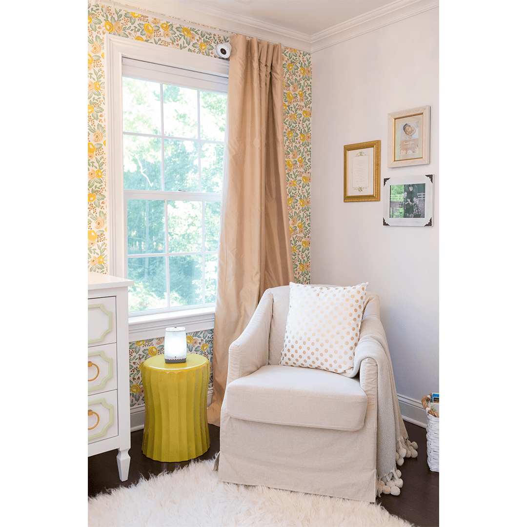 Gemma cinch lacquer accent table project nursery for Nursery side table ideas