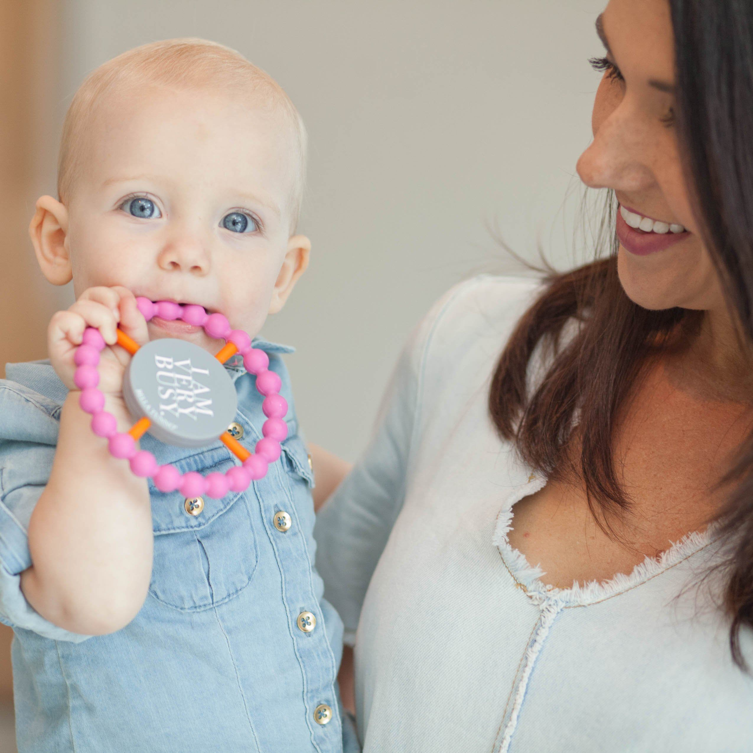 Happy Teether - I Am Very Busy - Project Nursery