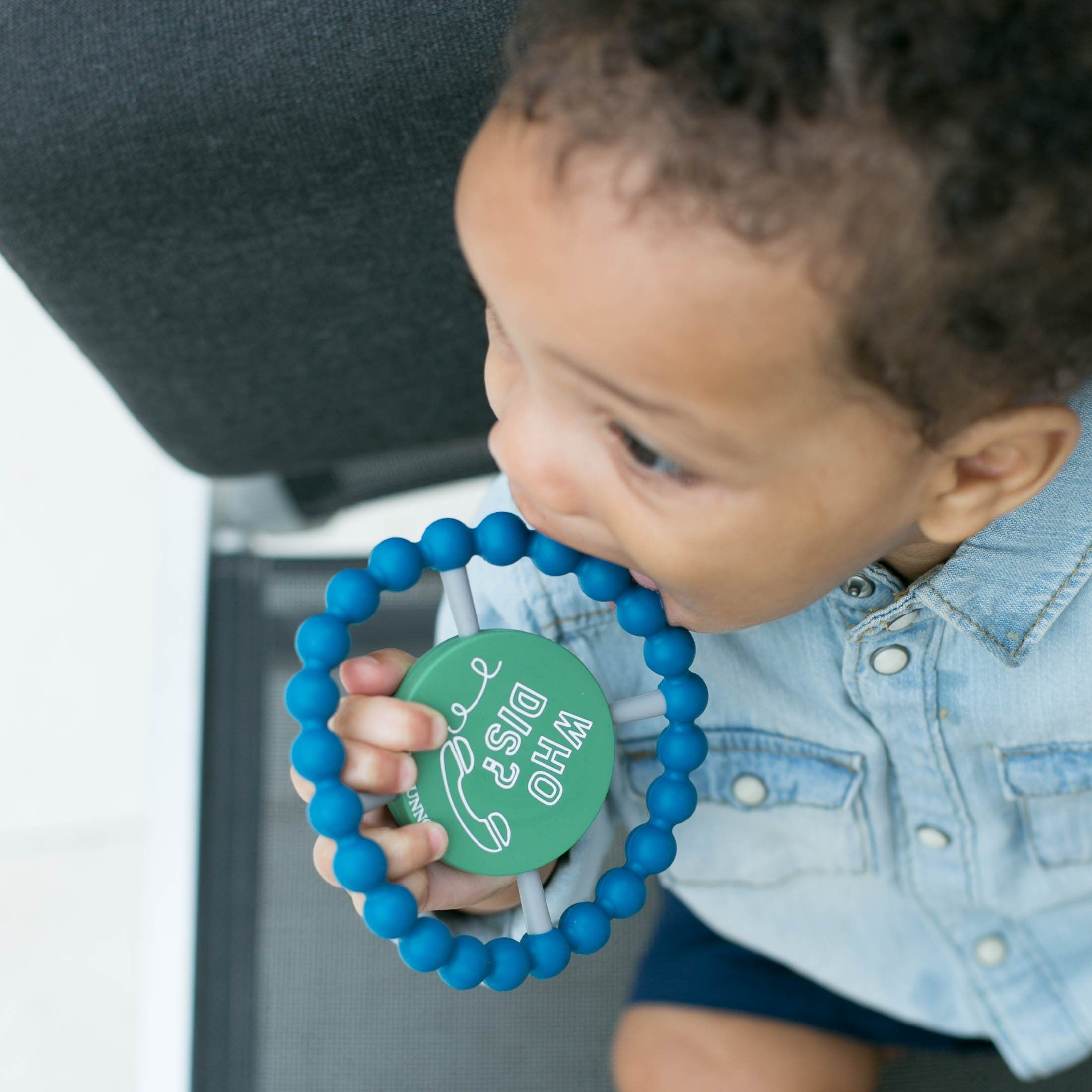 Happy Teether - Who Dis? - Project Nursery