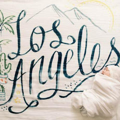 Los Angeles Organic Swaddle Scarf - Project Nursery