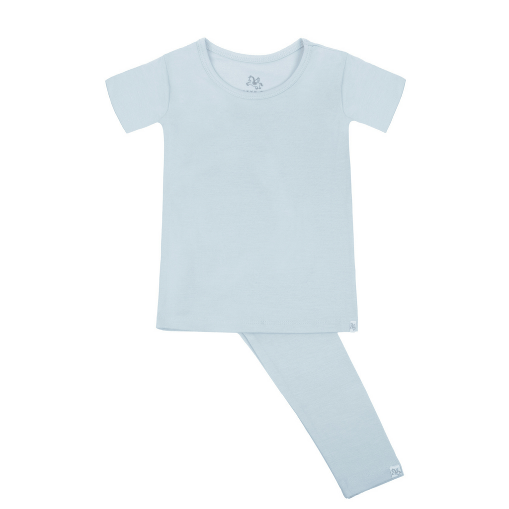Short Sleeve Pajama Set - Love You, Bay - Project Nursery