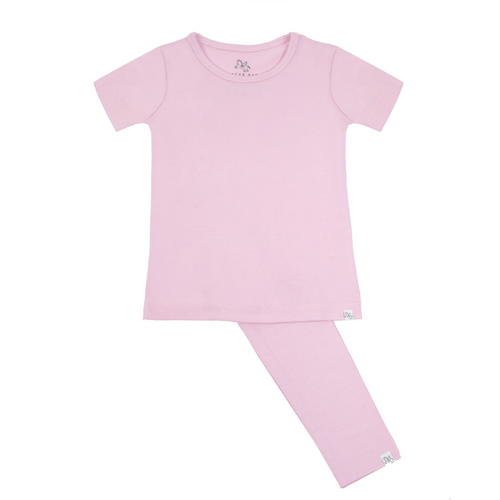 Short Sleeve Pajama Set - Sit Back and Lilac - Project Nursery
