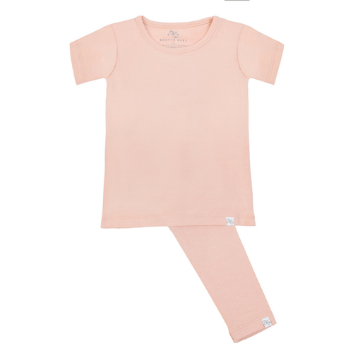 Short Sleeve Pajama Set - Sun Kissed By A Rose - Project Nursery