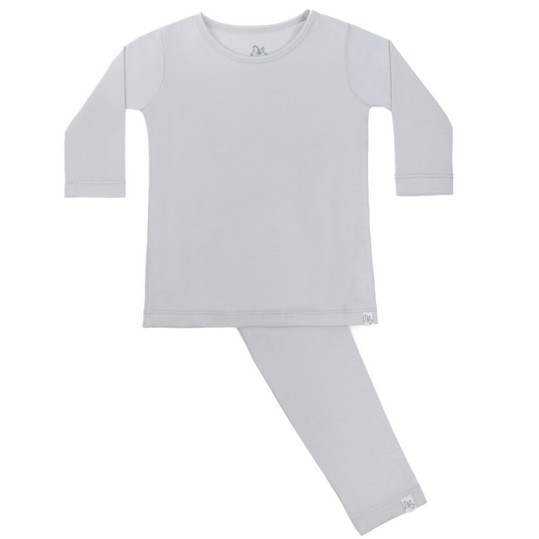 Long Sleeve Pajama Set - Ash in the Sand - Project Nursery