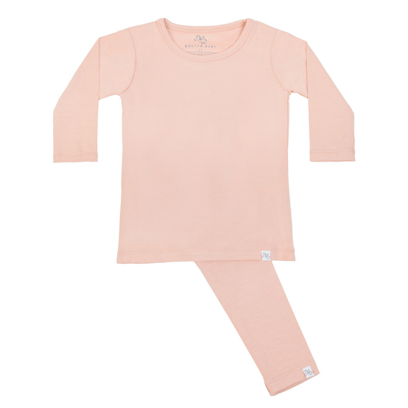 Long Sleeve Pajama Set - Sun Kissed By A Rose - Project Nursery