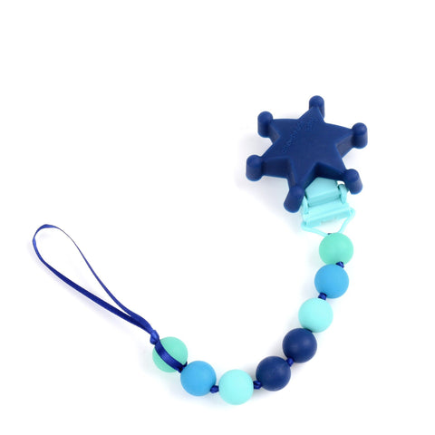 Ice Cream Silicone Teether with Clip