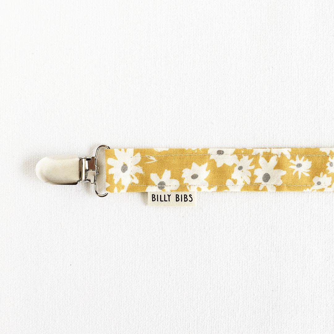 Wild Daisy Pacifier Clip - Project Nursery