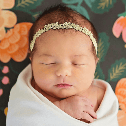 Isla Lace Headband - Project Nursery