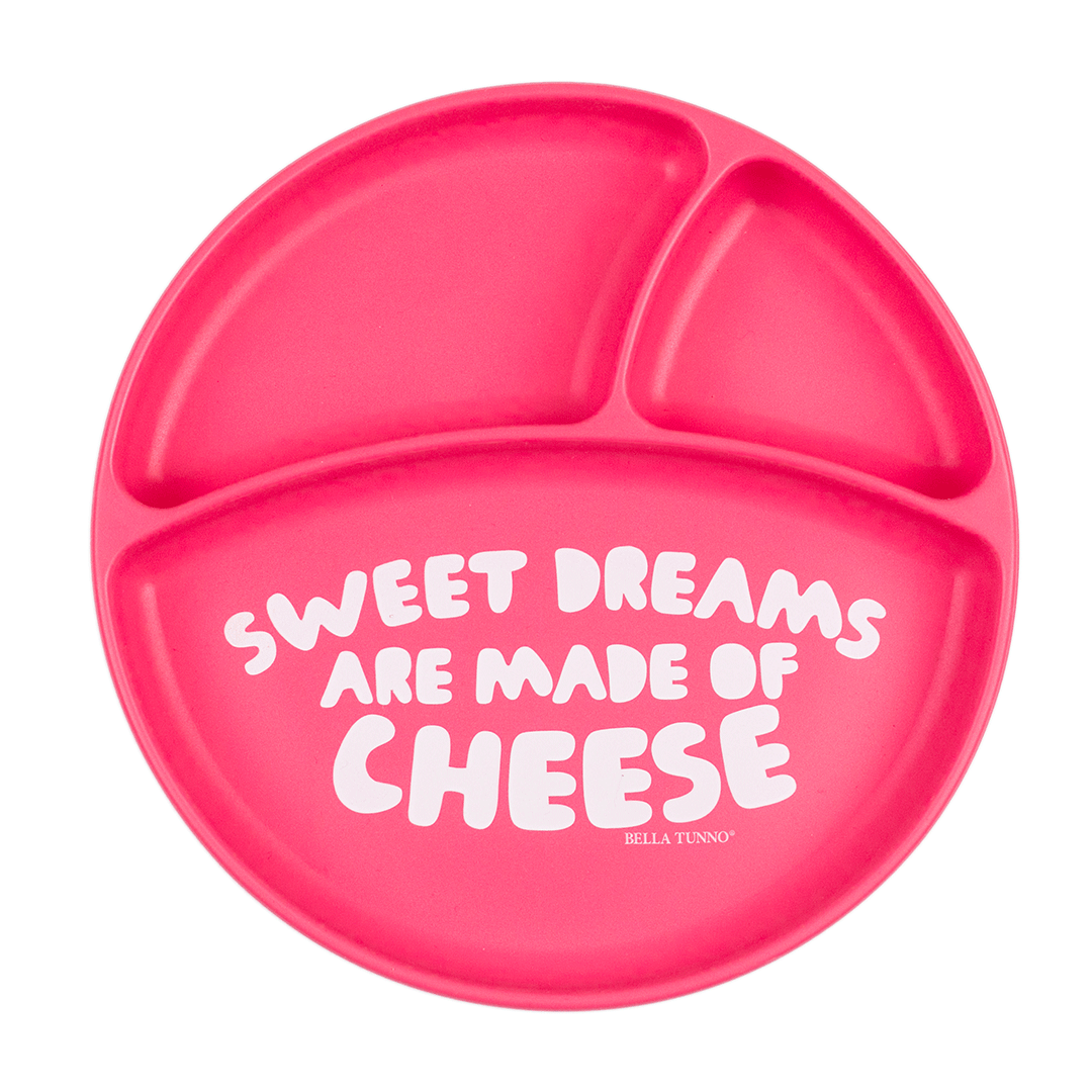 Sweet Dreams are Made of Cheese Wonder Plate - Project Nursery
