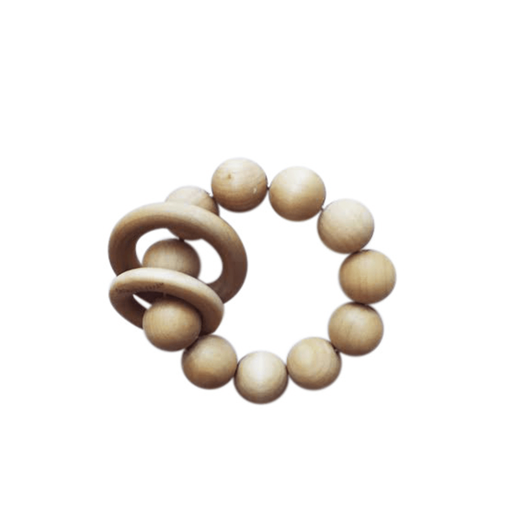Organic Natural Wood Teether