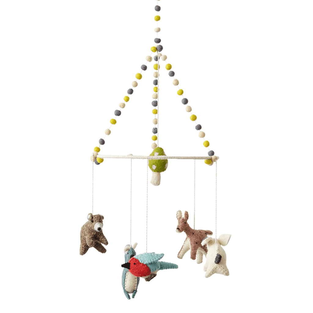 Woodland Creature Mobile  - The Project Nursery Shop