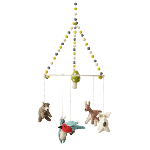 Woodland Creature Mobile - Project Nursery