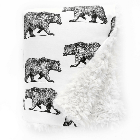 Muslin Blanket Buddies - Beaver + Fox
